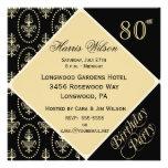 80th-89th Birthday Invitations