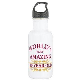 80th. Birthday 532 Ml Water Bottle