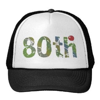 80th Birthday Gifts Cap