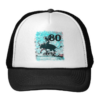 80th Birthday Gifts, Cowboy! Cap