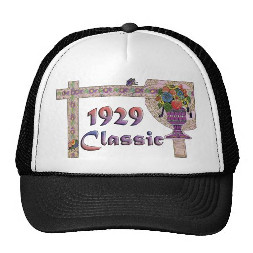 80th Birthday Mesh Hats