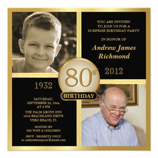 Ideas For 80Th Birthday Invitations is good invitation sample