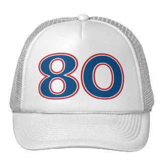 80th Birthday Party Cap
