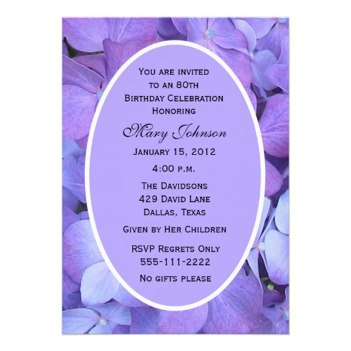 Eightieth Birthday Invitations with perfect invitations sample