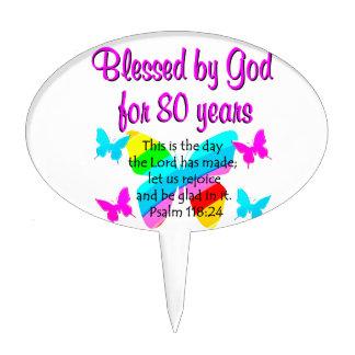 80TH BIRTHDAY PRAYER CAKE PICK
