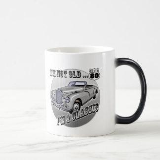 80th Birthday T-shirts and Gifts Magic Mug