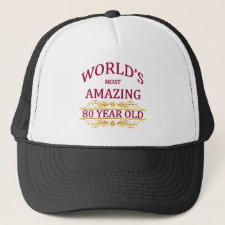 80th. Birthday Trucker Hat