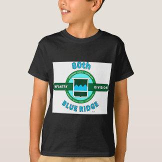 "80TH INFANTRY DIVISION ""BLUE RIDGE"" DIVISION TSHIRTS"