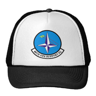 80th OPS Support Squadron Mesh Hats