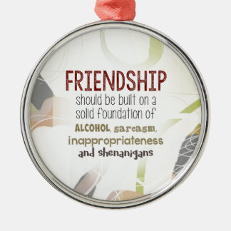 810.friendship-shenanigans christmas ornament