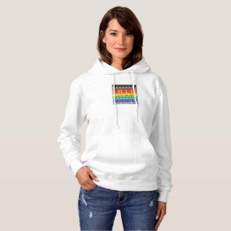 811 Films New Rainbow Logo Hooded Sweatshirt