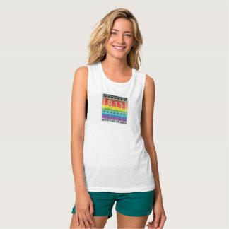 811 Films New Rainbow New Rainbow Logo Tank Top