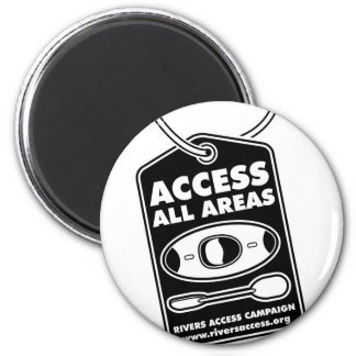 81. Access 2 6 Cm Round Magnet