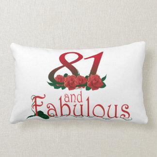 """81 and fabulous Lumbar Pillow 13"""" x 21"""""""