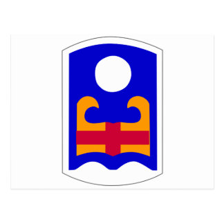 81st Division Artillery Postcard
