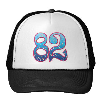 82 Age Rave Mesh Hats