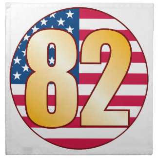 82 USA Gold Napkin