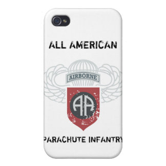 82nd Airborne All American iPhone 4 Cover