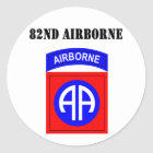 82nd Airborne Classic Round Sticker