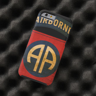82nd Airborne Distressed Division Patch iPhone 6 Tough iPhone 6 Case