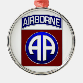 82nd Airborne Division All American Combat Patch Christmas Ornament