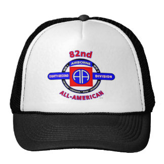 "82ND AIRBORNE DIVISION ""ALL AMERICAN"" DIVISION CAP"
