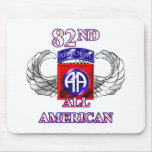 82nd Airborne Division All American Mouse Pad