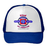 "82nd Airborne Division ""All American"" Trucker Cap Mesh Hat"
