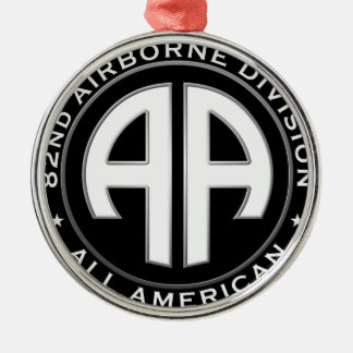 82nd Airborne Division Casual Patch Christmas Ornament