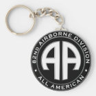 82nd Airborne Division Casual Patch Key Ring