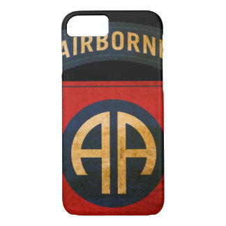82nd Airborne Division Distressed iPhone 7 iPhone 7 Case