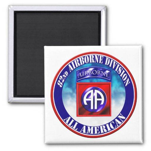 82nd Airborne Division Fridge Magnet
