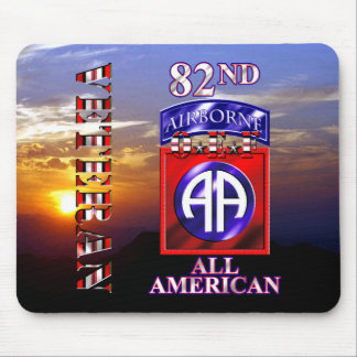 82nd Airborne Division OEF Veteran Mousepad