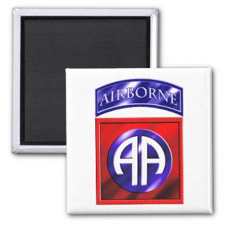 82nd Airborne Division Square Magnet
