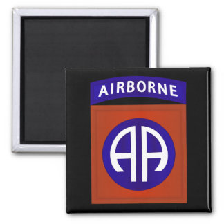82nd AIRBORNE DIVISION Square Magnet