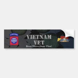 82nd airborne division vietnam nam bumper sticker