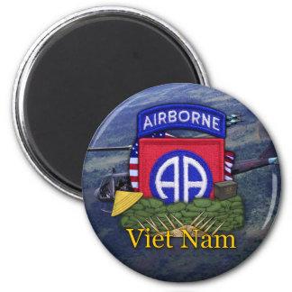 82nd airborne division vietnam vets veterans Magne Fridge Magnet