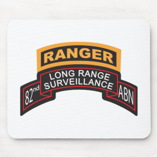 82nd Airborne LRS Scroll, Ranger Tab Mouse Mat