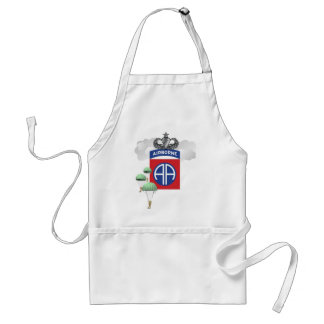 82nd Airborne, Paratroopers, Senior Jump Wings Standard Apron