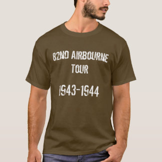 82nd Airbourne Tour T-Shirt