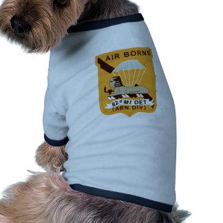 82nd Military Intelligence Dog Tee Shirt