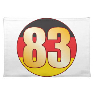 83 GERMANY Gold Placemat