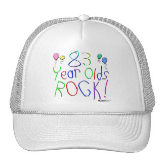 83 Year Olds Rock ! Hat