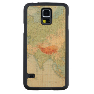 8485 Asia physical Carved Maple Galaxy S5 Case