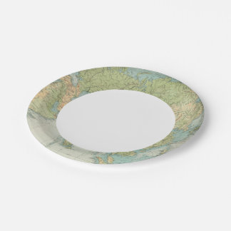 8485 Asia physical Paper Plate