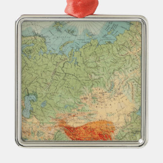 8485 Asia physical Silver-Colored Square Decoration