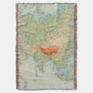 8485 Asia physical Throw Blanket