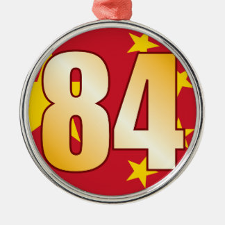 84 CHINA Gold Christmas Ornament