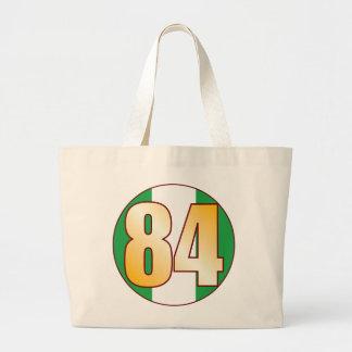 84 NIGERIA Gold Jumbo Tote Bag