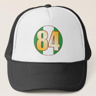 84 NIGERIA Gold Trucker Hat